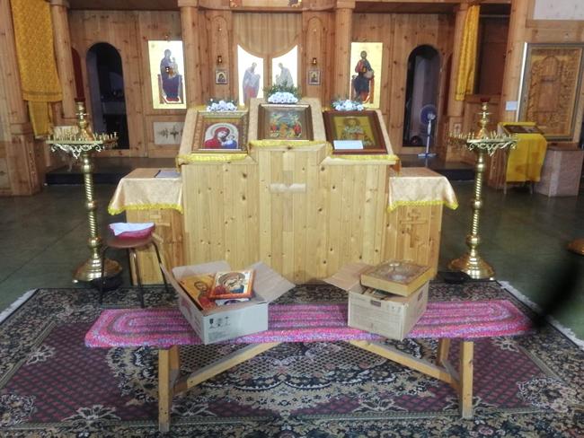 Сотрудники ИК-10 УФСИН России по Республике Татарстан передали в дар храму иконы, созданные осужденными